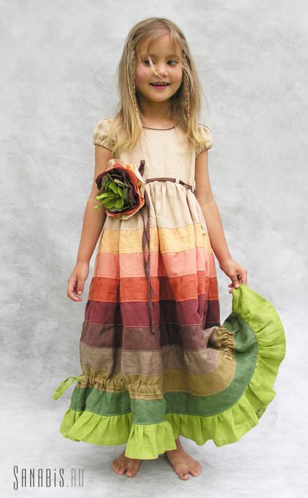 Платье для девочки от дизайнера