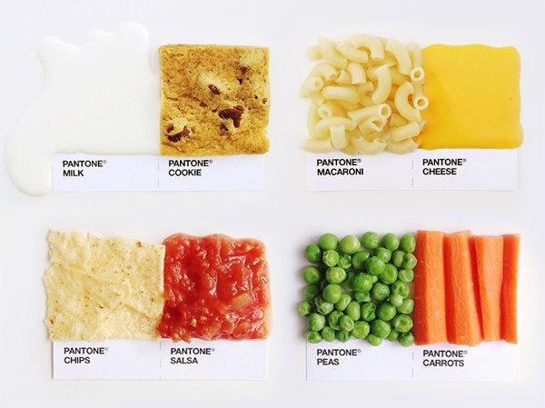 Pantone еда
