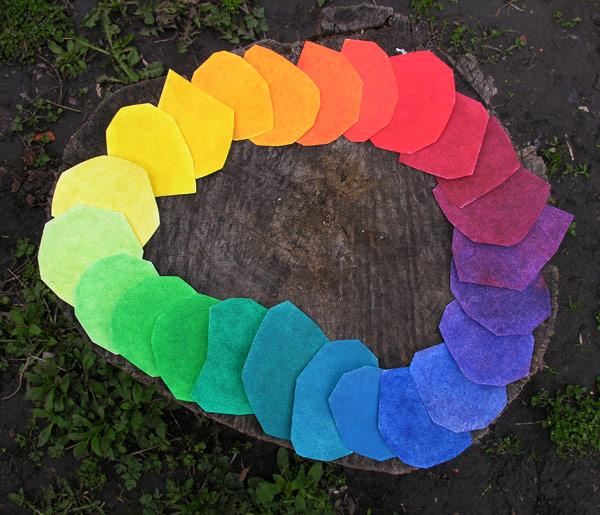 Цветовой круг своими руками