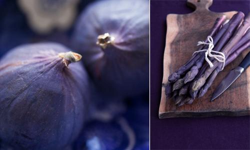 натуральный сине-фиолетовый
