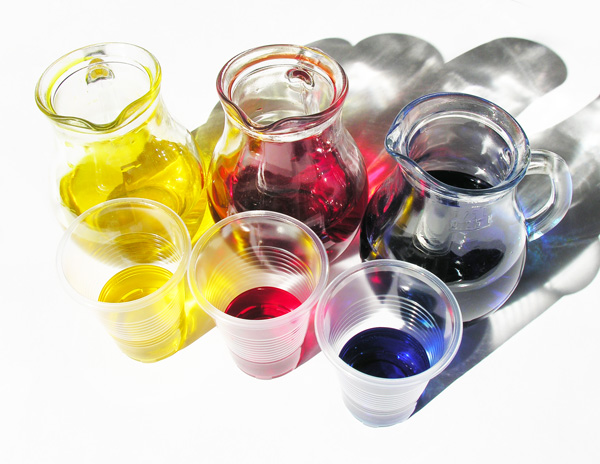 Цветная вода