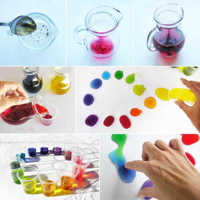 игры с цветом для детей