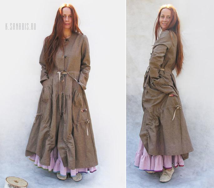 платье-пально Бохо-шик
