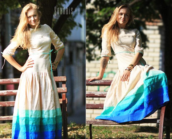 Фото моделей в платьях: