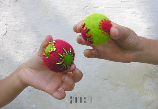 цветные шарики