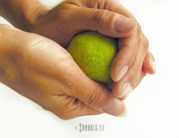 цветной шарик