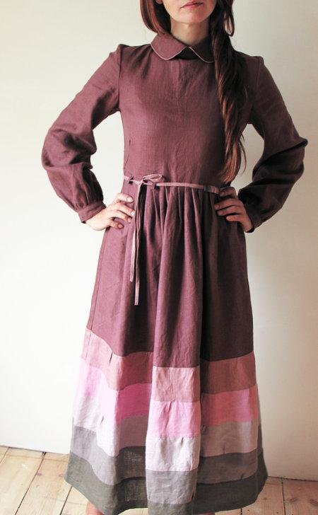 Льняные платья из Турции 1